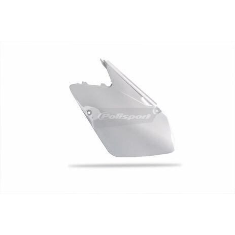_Tapas Laterales Polisport Suzuki RM 125/250 01-08 Blanco   8600400001   Greenland MX_