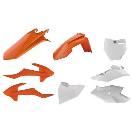 _Kit Plásticos Polisport KTM SX 85 18-20 OEM | 90760-P | Greenland MX_