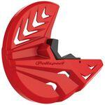 _Protector Disco Delantero y Pie de Horquilla Polisport Gas Gas EC 250/300 09-.. Rojo   8155600003-P   Greenland MX_